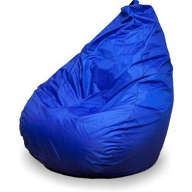 Кресло-мешок 'Груша' средняя, ширина 75 см, высота 110 см, цвет синий, плащёвка Ош