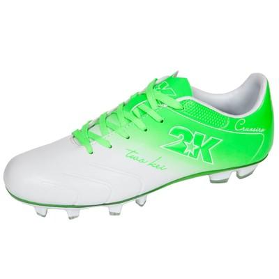 Футбольные бутсы 2K Sport Cruzeiro, white/green, размер 39