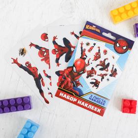 Наклейки детские в наборе 'Супергерой', Человек-паук, 3 шт Ош
