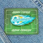 Значок «Екатеринбург. Летящий мяч»