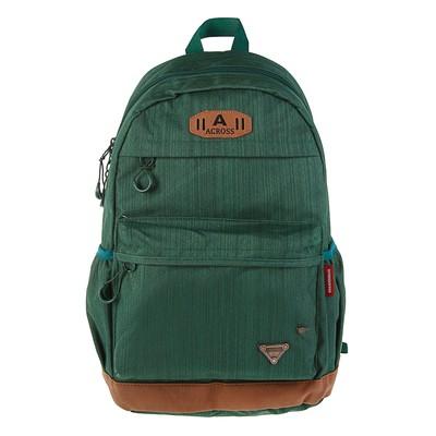 Рюкзак молодежный Across 45*29*18 AC18 зелёный AC18-150-02