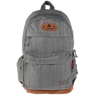 Рюкзак молодежный Across 45*29*18 AC18 серый AC18-150-04