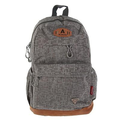 Рюкзак молодежный Across 45*29*18 AC18 серый AC18-151-06