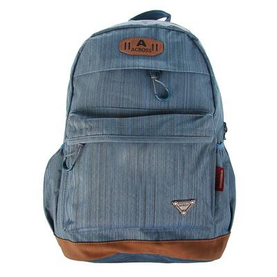 Рюкзак молодежный Across 45*29*18 AC18 синий AC18-150-05