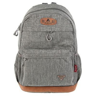 Рюкзак молодежный для мальчика Across 45*29*18 AC18, серый AC18-151-02
