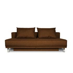 Диван-кровать NEXT, обивка рогожка Coffee