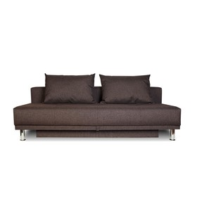 Диван-кровать NEXT, обивка рогожка «баклажан»