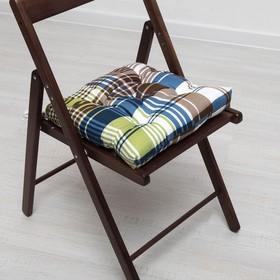 Подушка для стула АДЕЛЬ Брайтон 35*35 см, полисатин Ош