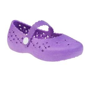 Туфли для купания детские  арт. BQK00711-15 (фиолетовый) (р. 25) Ош