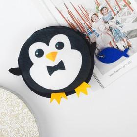 Детский кошелек 'Пингвинчик' с доп элементом 9*9см Ош