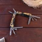 Инструмент многофункциональный 9в1,в чехле, рукоять хаки