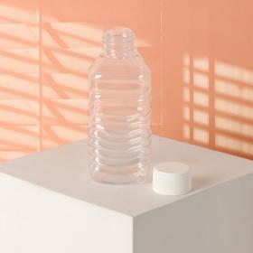Бутылочка для хранения, 140мл, цвет белый Ош