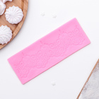 "Коврик для айсинга 17,5х6,4 см ""Шанти"", цвет розовый"