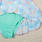 """Купальник для девочки """"Конфетти"""", рост 104-110 см (4-5 лет), цвет бирюзовый"""