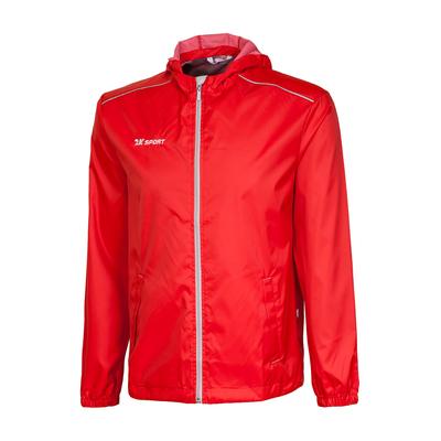 Куртка ветрозащитная 2K Sport Futuro, red/silver, L