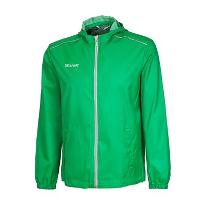 Куртка ветрозащитная 2K Sport Futuro, green/silver, L