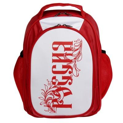 Рюкзак школьный эргономичная спинка Luris 37*27*16 Бонус «Россия», красный 148.