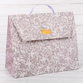 Пакет – сумка «Кружево», 23,5 х 19,5 х 11 см