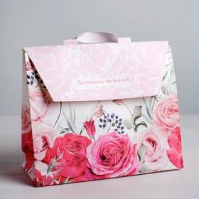 Пакет – сумка «Прекрасных моментов!», 23,5 х 19,5 х 11 см