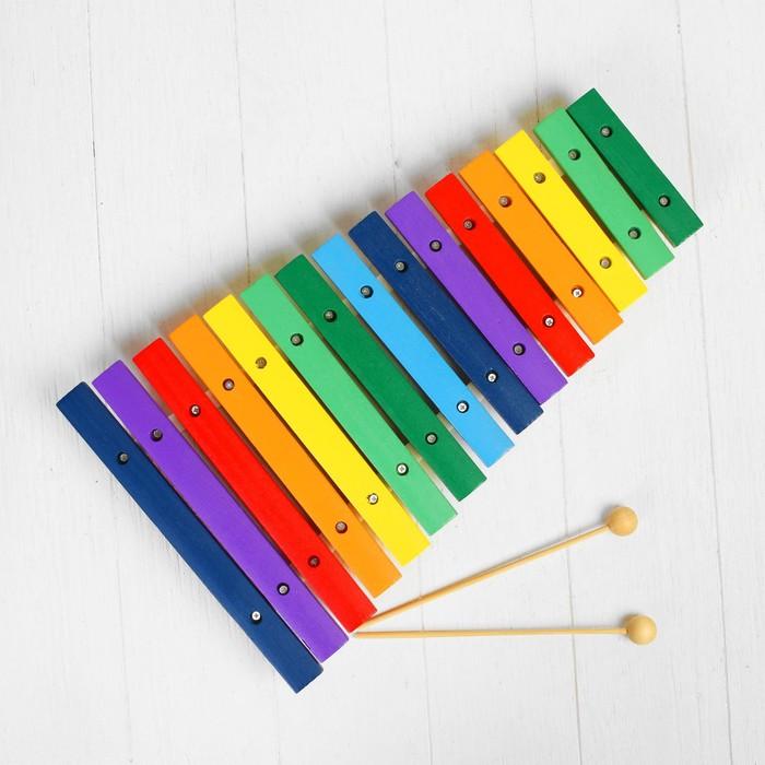 Игрушка музыкальная Ксилофон, 15 тонов