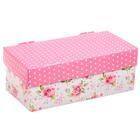 Складная коробка «Цветочная радость», 26 х 14 х 10 см