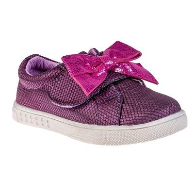 Полуботинки детские арт. 8267, цвет фиолетовый, размер 30