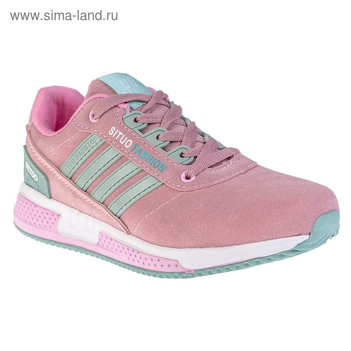 Кроссовки женские арт. 8676-5, цвет розовый, размер 38