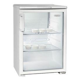 Холодильная витрина БИРЮСА 152 Е, однокамерная, объем 152 л Ош