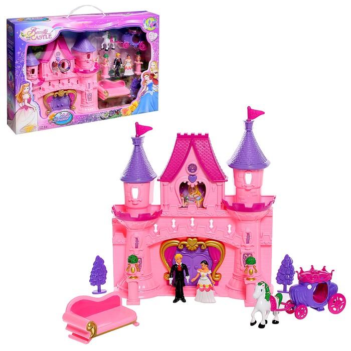"""Замок для кукол """"Мечта"""" световые и звуковые эффекты, с аксессуарами"""
