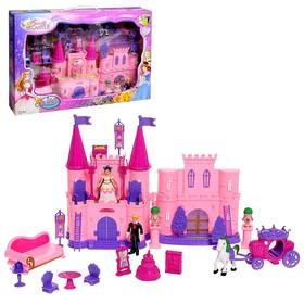 Замок для кукол 'Кукольный замок' световые и звуковые эффекты, с аксессуарами Ош