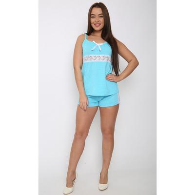 Пижама женская (майка, шорты) П-662 цвет МИКС, р-р 50