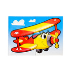 """Пазлы магнитные А6 """"Самолетик""""  3373"""