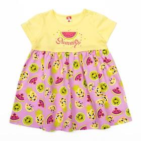Платье для девочки, рост 92 (56) см, цвет жёлтый CSB 61827