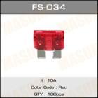 Предохранитель флажковый стандарт  Masuma FS034
