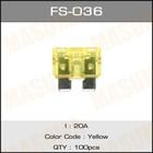 Предохранитель флажковый стандарт  Masuma FS036