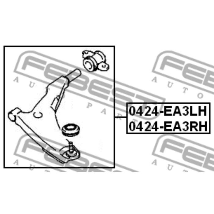 Рычаг передний правый febest 0424-ea3rh