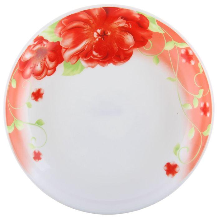 """Тарелка суповая 20 см """"Волнующее предвкушение"""", опаловое стекло"""