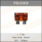 Предохранитель флажковый стандарт  Masuma FS033