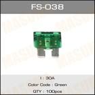 Предохранитель флажковый стандарт  Masuma FS038