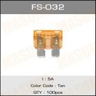 Предохранитель флажковый стандарт  Masuma FS032