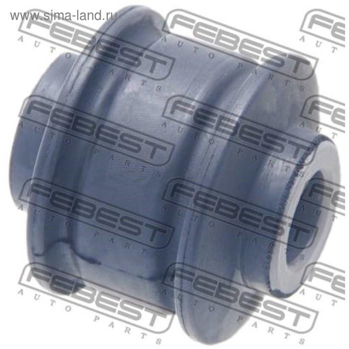 Сайлентблок передней тяги стабилизатора febest crab-040