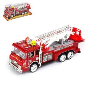 """Машина инерционная """"Пожарная охрана"""", с лестницей"""