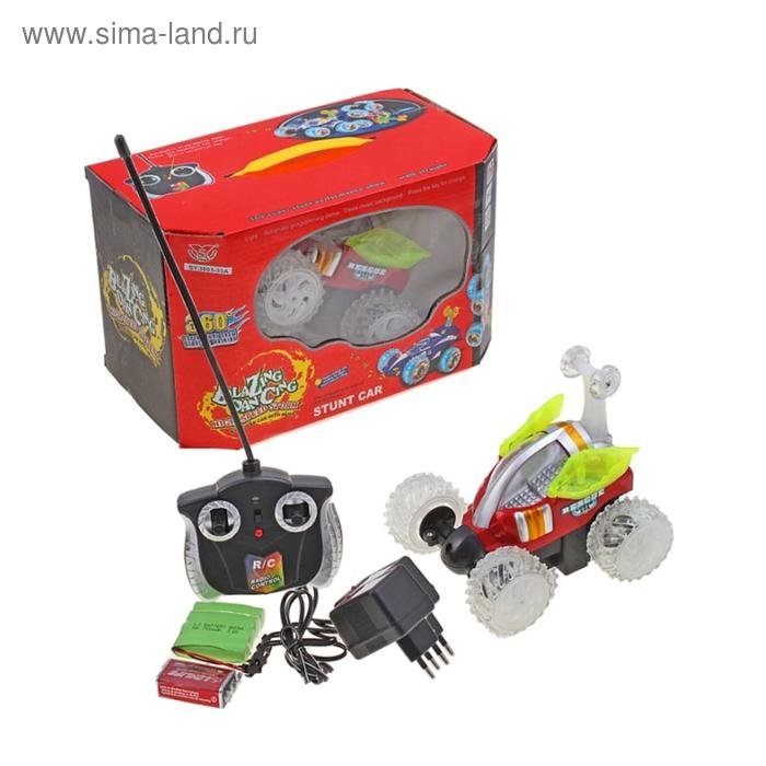 Машина радиоуправляемая «Перевёртыш» с аккумулятором, со световыми эффектами