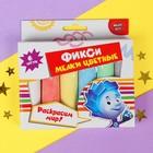 """Мелки цветные для творчества """"Фиксики"""", 6 цветов"""