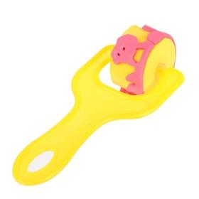 Ролик детский для краски 'Животные', цвета МИКС Ош