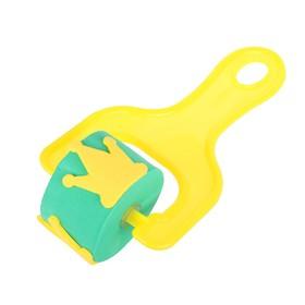 Ролик детский для краски 'Корона', цвета МИКС Ош