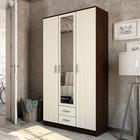 Шкаф 3-х дверный Трио, Венге/Лоредо