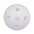 """Мяч для флорбола """"RealStick"""", арт.MR-MF-Wh, пластик с углубл., IFF Approved  белый"""