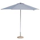 """Пляжный зонт  """"ВЕРОНА"""", 2,7м, цвет серый 0795171"""