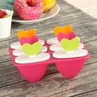 """Форма для мороженого """"Ягоды"""", 6 ячеек, цвета МИКС"""